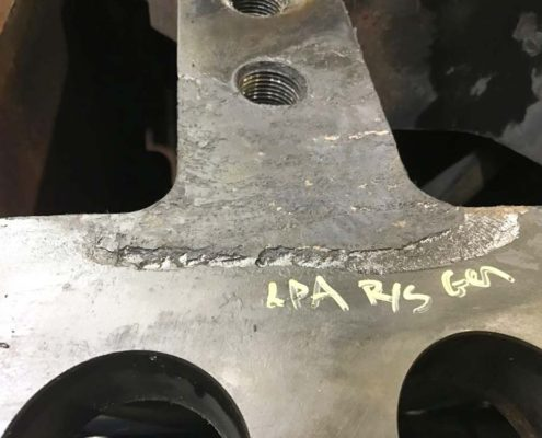 Casing Repair – Distortion and Erosion Turbine Tips